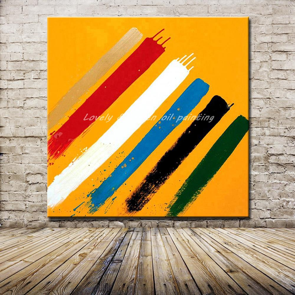 Online Buy Wholesale black and white abstract acrylic paintings from ...