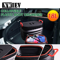 NWIEV 1X Car Trunk storage box Multifunction Collapsible For Renault Megane 2 Captur VW Golf 4 5 7 6 MK4 Honda Civic Accesories