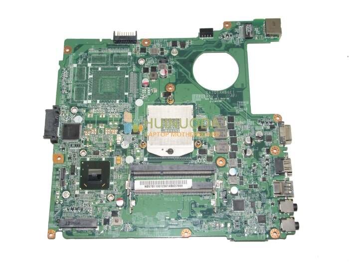 NOKOTION Mère D'ordinateur Portable Pour Acer Aspire E1 431 NBV7B11001 DAZQSAMB6E1 HM67 DDR3 Carte Mère