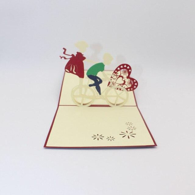 3d Laser Cut Handgemachte Susse Fahrrad Liebhaber Papier Einladung