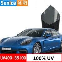 100% UV Car window tint film 35% VLT auto glass tinting film for hose office car sunshade residential commercial 1m x 3m