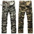 AIRGRACIAS Fashion Pocket Men's Camouflage Pants 100% Cotton Casual High Quality Pants Cargo Pants 6 Colors Plus Size 28-38