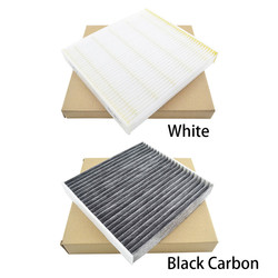 Gray Choosable Color Carbon Fiber 213 mm193 mm30 mm 95%filtration Cabin A/C Air Conditioning Filter for Toyota Lexus Subaru87139