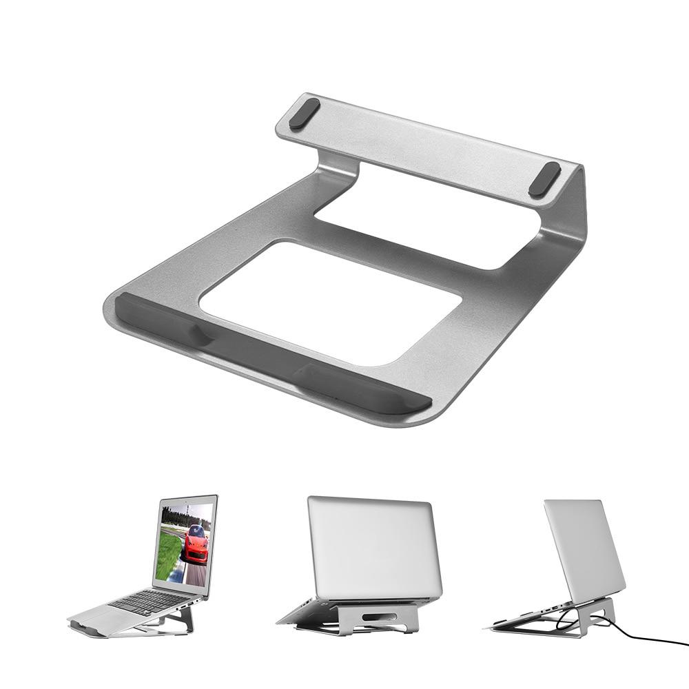 Laptop Stand Holder Cooler Vestilated Desk Stands Aluminum Alloy Computer Notebook Workstation Riser  for 11-15.4″ inch Laptops