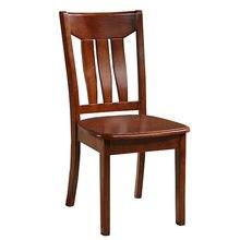 Полностью твердый деревянный обеденный стул в китайском стиле, простой современный стул для ресторана отеля, стул из цельного дерева