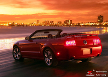 ZOOMSEEZ 4 шт. Х лампа для Ford Mustang СВЕТОДИОДНЫЙ Тормозной Стоп Хвост свет (1994-2004)