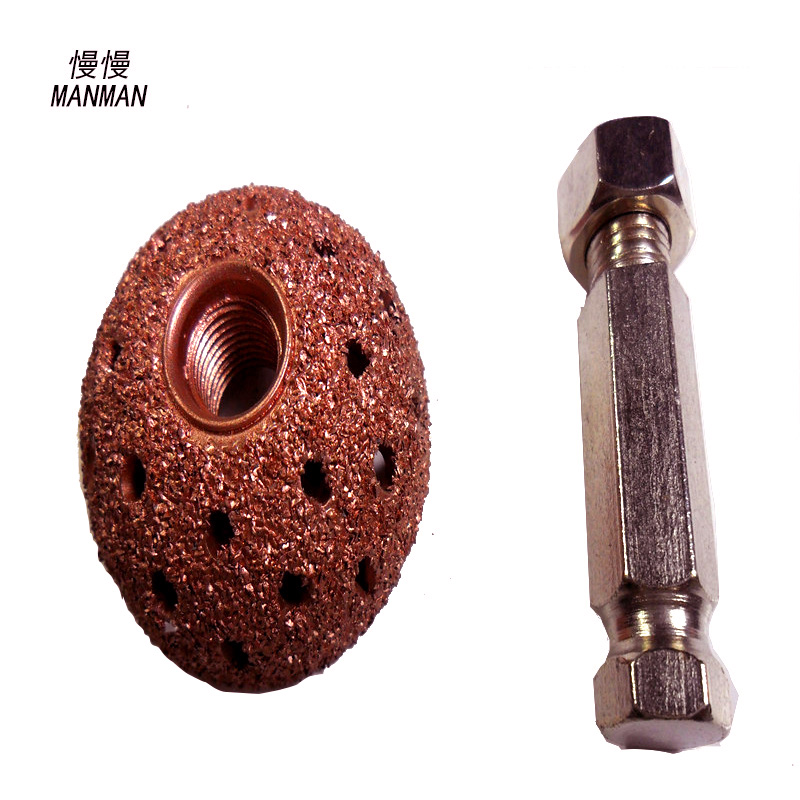 38mm medium size tire repair grinding coarse grit buffing wheel tire repair tools