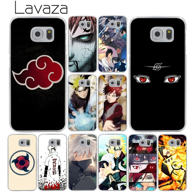 half off cad6a 6d24a US $2.55 |Lavaza Anime Naruto Akatsuki Desgin Hard Phone Shell Cover Case  for Samsung Galaxy S10 S10E S8 Plus S6 S7 Edge S9 Plus Cover-in  Half-wrapped ...