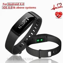 V07 Smart Bracelet Bande de Fréquence Cardiaque Moniteur Sang Pression Bracelets pedomet Bracelet Fitness Tracker SmartBand Pour iOS Android