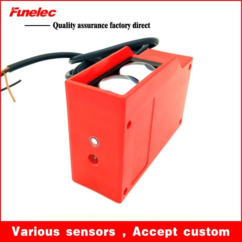 Diffuse mode photoelectric sensor