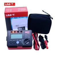 LCD Backlight Display UNI T UT501A 100V 1000V megger Insulation earth ground resistance meter Tester Megohmmeter Voltmeter