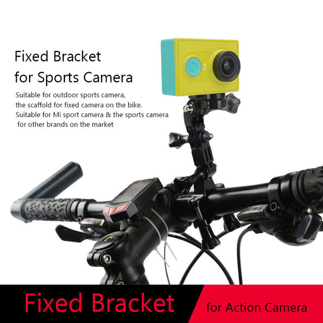 Xiaomi Yi Action Camera Bike Holder Bicycle Handlebar 3 Way Pivot