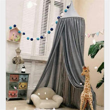 Infant Palace Bed Curtains Baby Crib Bed Mantle Play Game Tent Kids Children Room Decor Sleep Bedside Netting Mosquito Net(China)