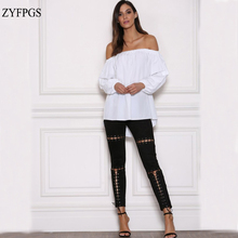 ZYFPGS 2019 Spring Summer Pants Woman Girls Pantalon Femme Hip Pop Skinny New Arrivals #D0062