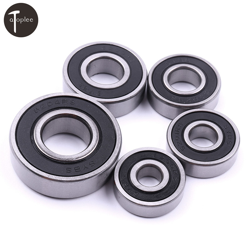4 DIY Mechanicals 608RS 608-2RS Rubber Shielded Deep Groove Ball Bearing ABEC-5 8x22x7mm