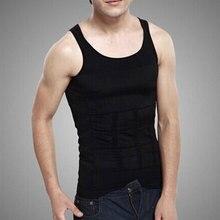 Mens Belt Body Sculpting Orthopedic Underwear Summer Nylon Men Vest Waist Abdomen Slimming Solid Beer Belly 2 Colors