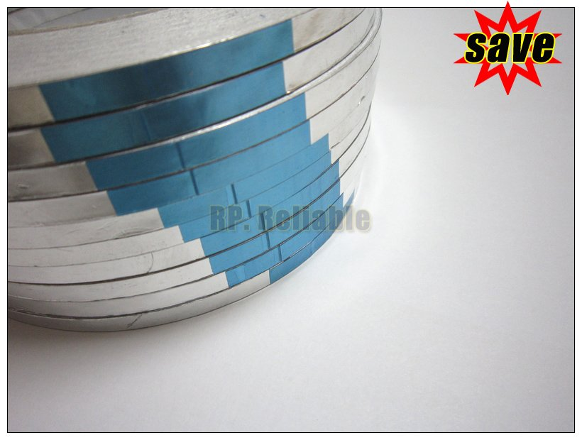 CRAZY PROMOTION 10x 5mm* 40M*0.06mm Sticky Aluminum Foil Tape For Radiation-Resistant EMI Shielding BGA Soldering IC Protec