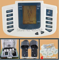 Lowest JR 309 New Electrical Stimulator Full Body Relax Muscle Massager Pulse Tens Acupuncture Therapy Slipper
