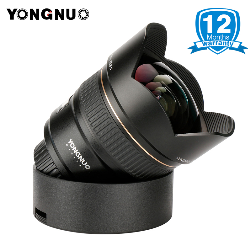 2018 YONGNUO 14mm Ultra-wide Angle Prime Lens YN14mm F2.8N Auto Focus Metal Mount for Nikon D7100 D5300 D3200 D3100 DSLR Cameras