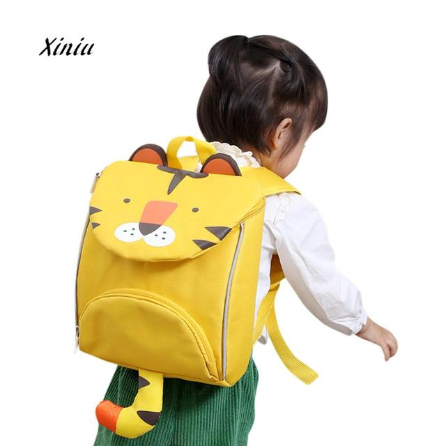 b98a16de1268 Children Backpacks Kids Cute Cartoon Lion Rabbit Animal Shape Backpack Baby  Toddler School Shoulder Bag Bookbag For Girls Boys