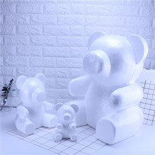 PE foam modeling polystyrene bear rabbit dog for pe rose head craft gift valentines day girls birthday