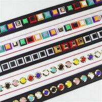 Messenger Bag Strap You Replacement Pu Leather Flower Brand Rivet Handle Shoulder Bag Accessories Belts For