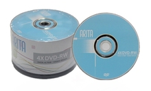 ARITA rewritable DVD-RW 4.7GB 4X 50pcs/lot free shipping