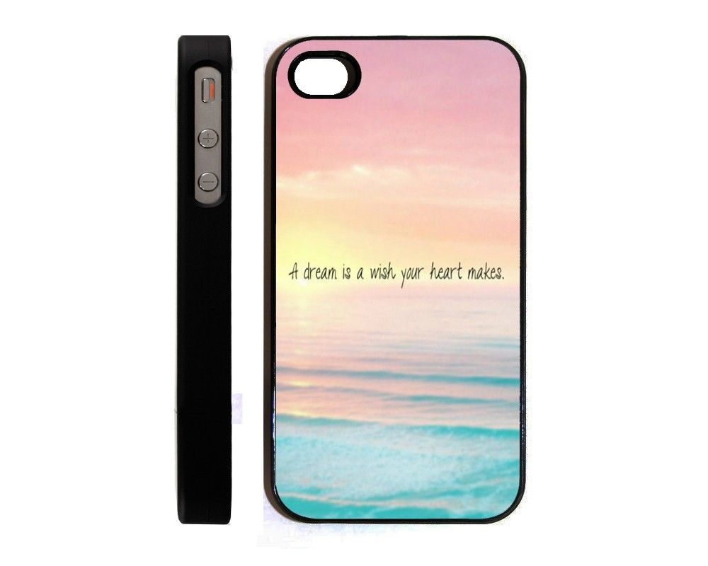 Dream Hipster Quote Cute Ombre Hard Cell Phone Case For Iphone 5 5S A184 On Aliexpress
