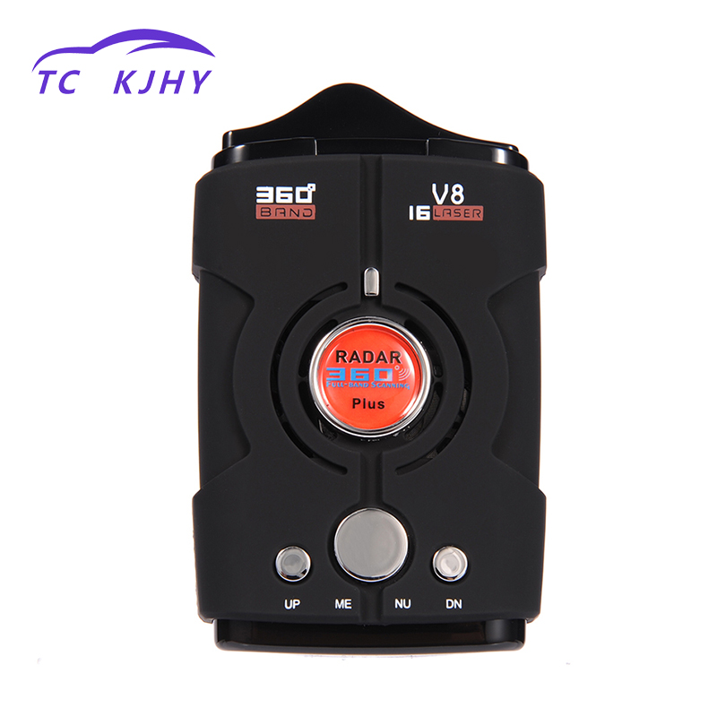 2018 Car Electronics Accessories Detector 360 Degree Radar Detector Full Band LED Display Auto Laser Security Car Speed Control