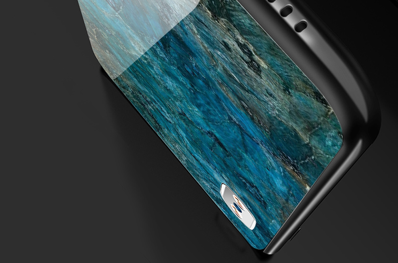TOMKAS Luxury Marble Phone Case for iPhone X 10 Tempered Glass PC Agate Back Cover Silicone Soft Edge Coque Case for iPhone X (19)