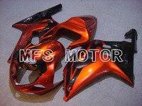 Части мотоцикла Для Suzuki GSXR 1000 2000 2002 ABS Пластик Обтекателя Впрыска Комплект Для Кузова Оранжевый
