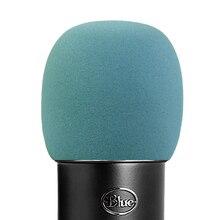 купить SHELKEE Foam Microphone Windscreen for Blue Yeti ,Yeti Pro condenser microphones- as a pop filter for the microphones Sky gray дешево