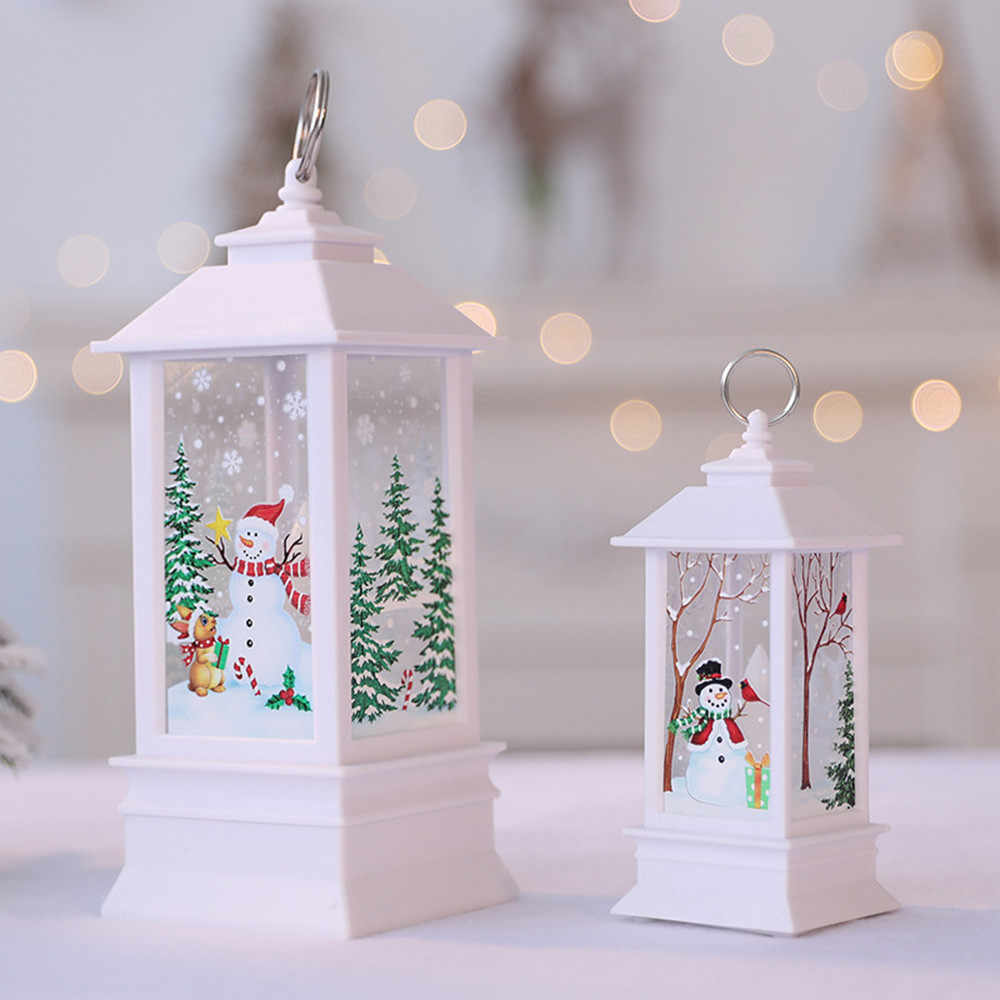 #ew Christmas Decorations for Home Led 1 pcs Christmas Candle with LED Tea light Candles Christmas Tree Decoration Kerst