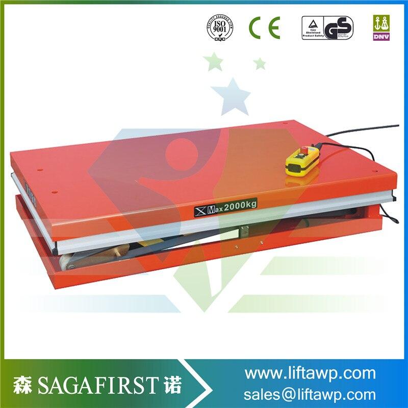 Hydraulic Scissor Type Lift Platform with High Quality