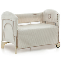High quality export baby cradle baby bed 0 6 years baby bed crib joint with parents bed send bumper cotton
