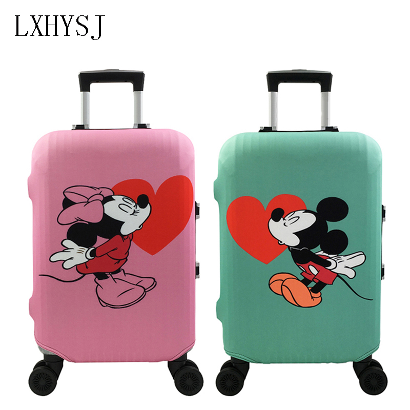 Travel Elasticity Luggage Protective Covers Luggage Cover  Suitable19-32 Inch Suitcase Case Dust Cover Travel Accessories