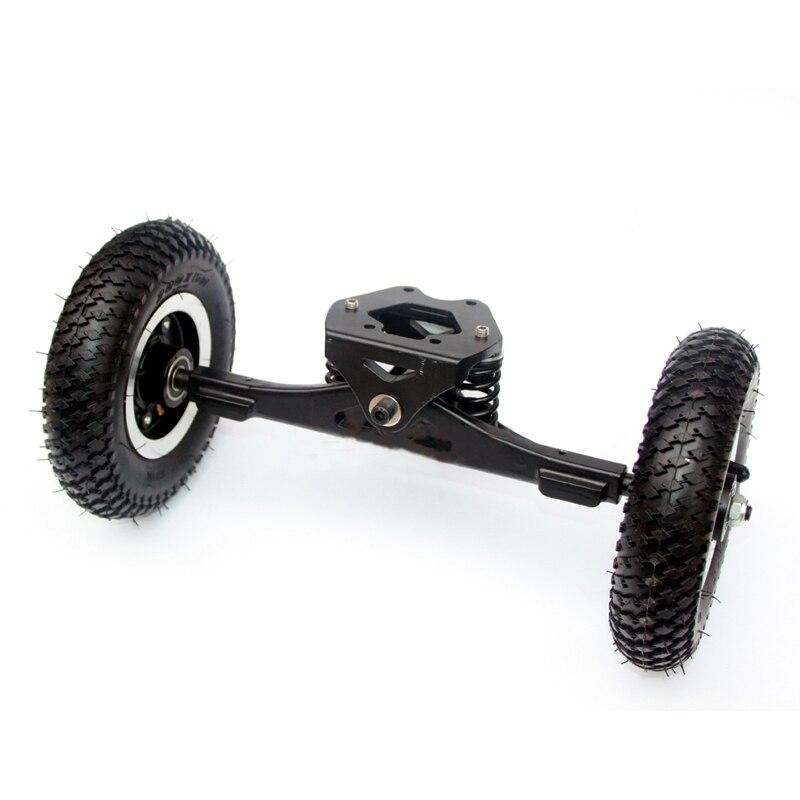 Image 5 - 11inch Truck Electric Skateboard Brushless Motor 8inch Whlees Off Road Skateboard Belt Drive Bridge 4 Wheel Long BoardSkate Board   -