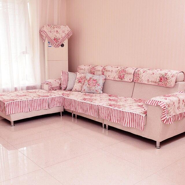 TheMis sofa cover cotton&textile fiber sofa cloth towel floor mat ...