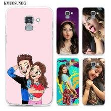 Transparent Soft Silicone Phone Case soy luna frosted softness For Samsung Galaxy j8 j7 j6 j5 j4 j3 Plus 2018 2017 Prime