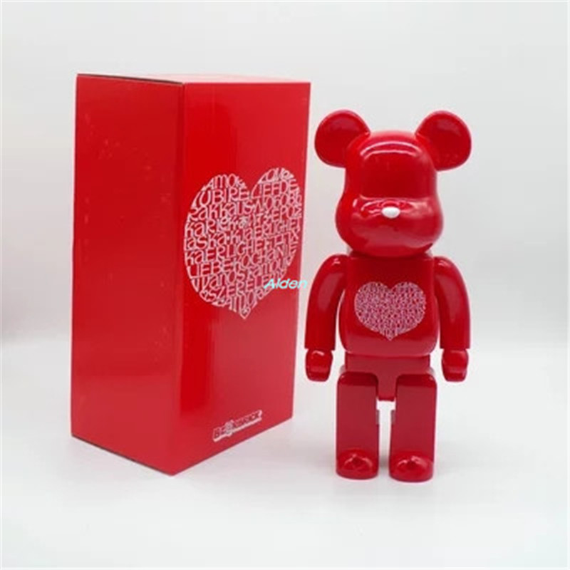 11 Be@rbrick Gloomy 400% Bearbrick Original Fake Gloomy Loving Heart BB PVC Action Figure Collectible Model Toy BOX Z35611 Be@rbrick Gloomy 400% Bearbrick Original Fake Gloomy Loving Heart BB PVC Action Figure Collectible Model Toy BOX Z356
