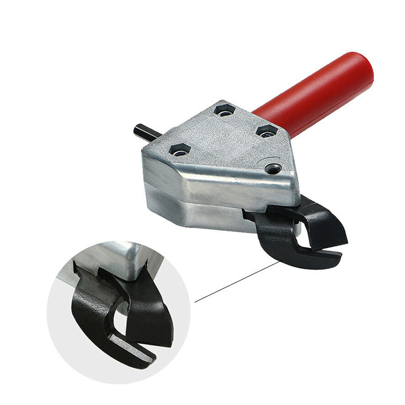 Metal Sheet Cutter Head Tool Bit Woodworking Metalworking Hand Tools Accessories for Electric Clippers Scissors Power Drill|Scissors| |  - title=