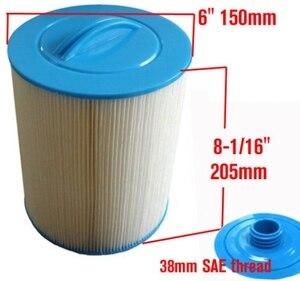 Image 3 - 4 adet/grup sıcak küvet spa havuzu filtre 205x150mm kolu 38mm SAE konu filtre + ücretsiz kargo