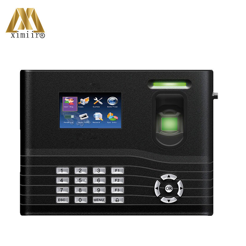 Smart Fingerprint Access Control System IN01-A With ADMS Cloud Server Machine Fingerprint Time Attendance