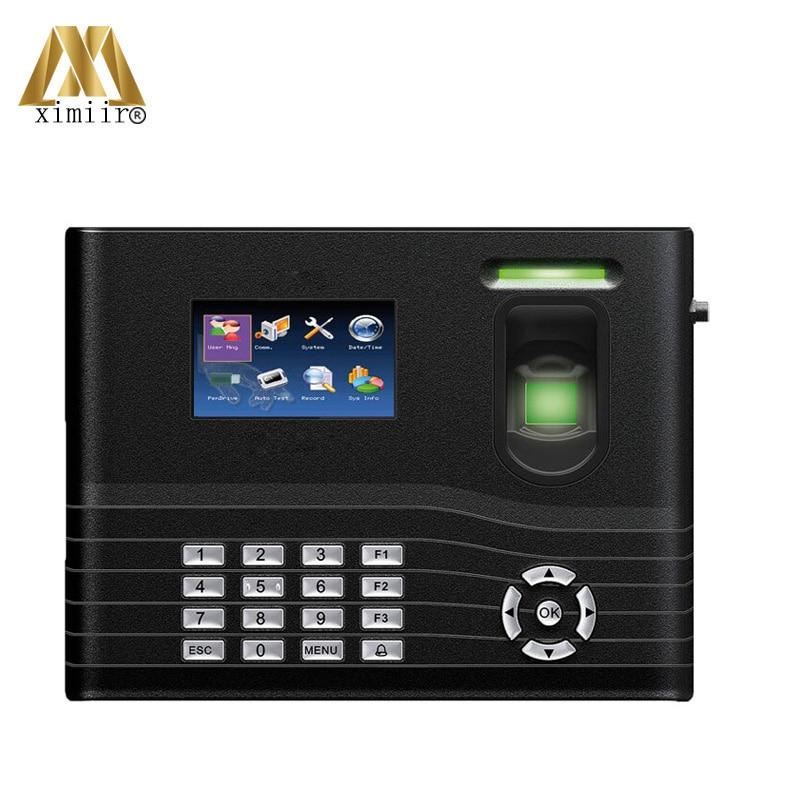 Smart Fingerprint Access Control System IN01-A With ADMS Cloud Server Machine Fingerprint Time Attendance