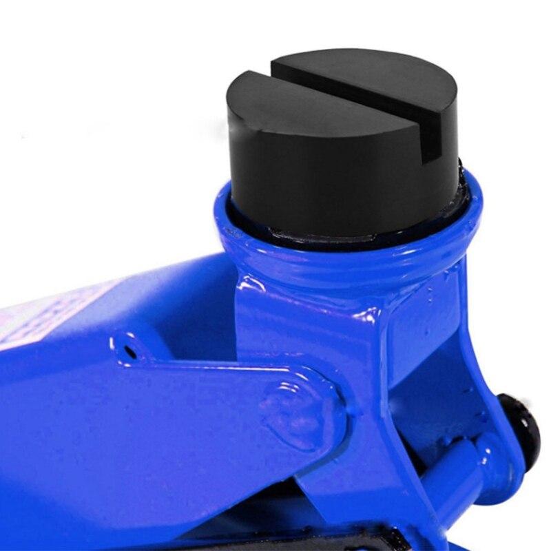 Car Rubber Vehicle Jacks Jack Pad Frame Protector Rail Floor Jack Guard Adapter Tool Jacking Lifting Disk