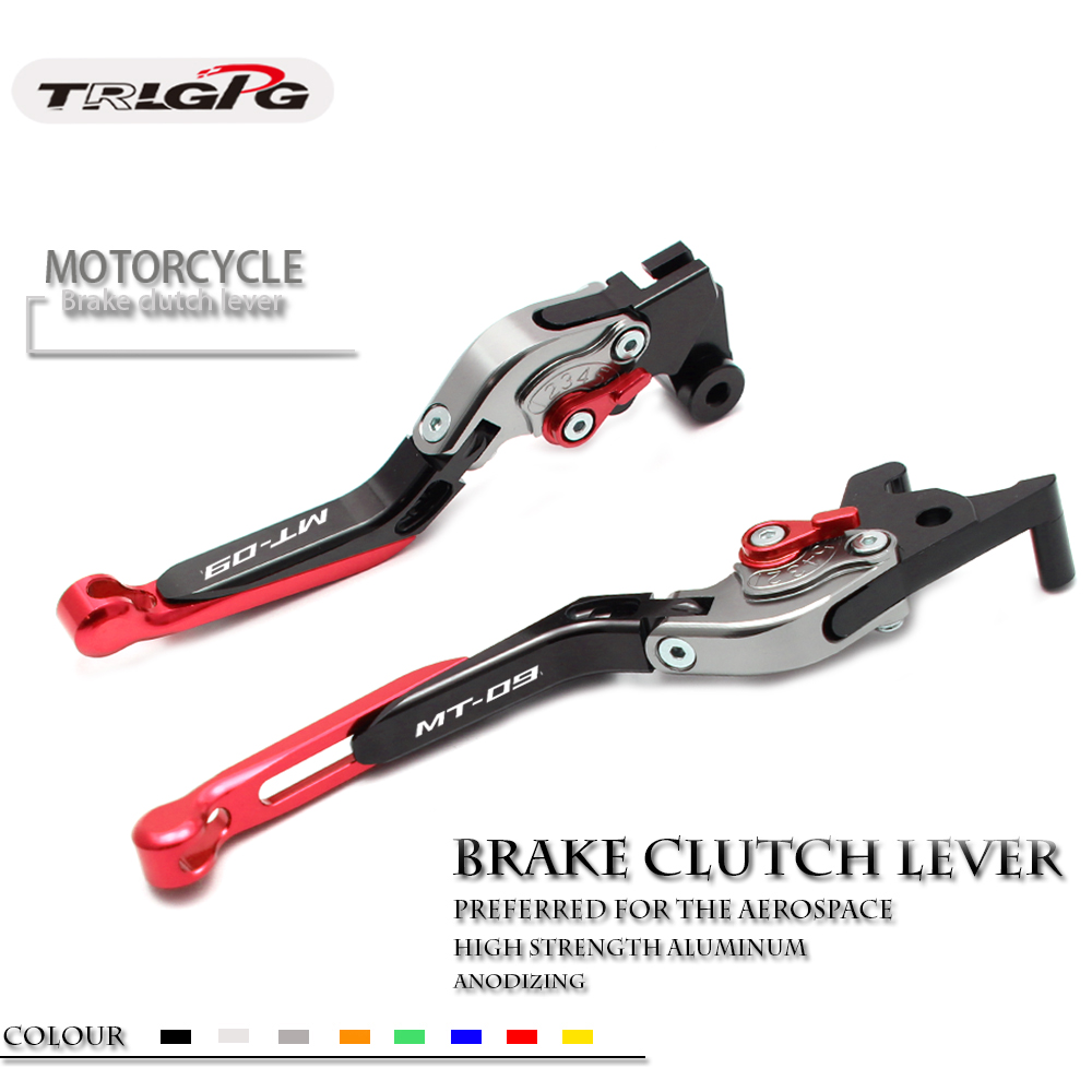 For YAMAHA MT 09 MT09 MT-09 Tracer/SR 2014 2015 2016 2017 2018  Motorcycle Accessories Folding Extendable Brake Clutch Levers For YAMAHA MT 09 MT09 MT-09 Tracer/SR 2014 2015 2016 2017 2018  Motorcycle Accessories Folding Extendable Brake Clutch Levers