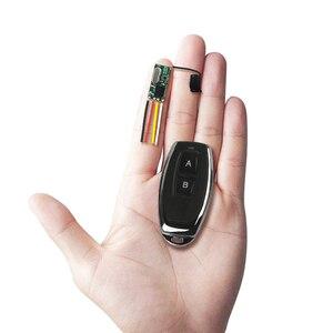 Image 2 - Qiachip 433 mhz sem fio interruptor de controle remoto longo alcance mini receptor 3.6 v 12 v 24 v e 433 mhz transmissor led controle remoto