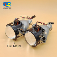 New Full Metal 2 5 HID Bi Xenon Lens Projector Headlight Head Lamp Lenses H4 H7