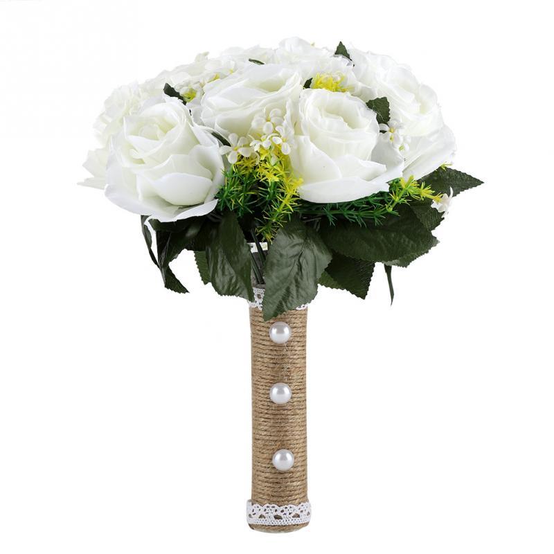 Korean Wedding Flowers: Wedding Decorations Props Korean Style Handmade Artificial