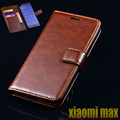Xiaomi mi max case capa flip de couro de luxo sacos de telefone para xiaomi max ultra fina carteira de negócios tampa do telefone móvel bolsas case